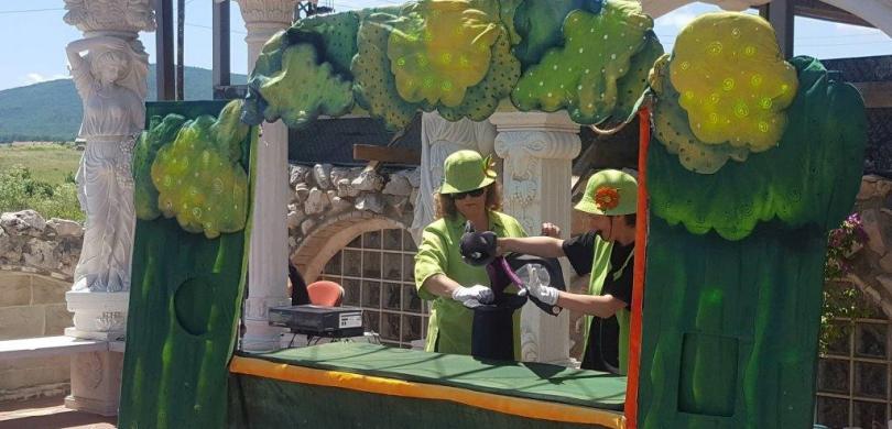 puppet theatre castle